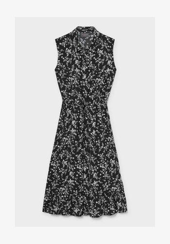Sukienka koszulowa - black / white