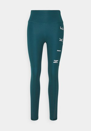 RUN EPIC FAST - Punčochy - dark teal green/silver