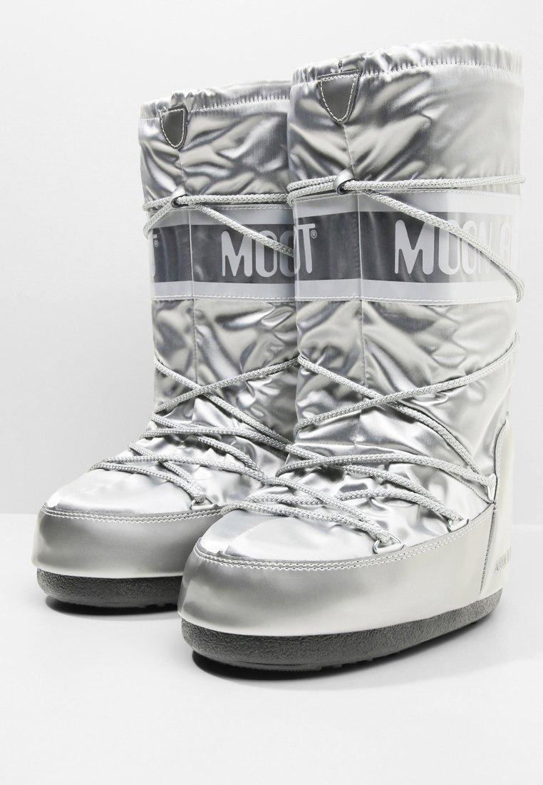 Moon Boot GLANCE - Bottes de neige - silver - Bottes femme Nouveau