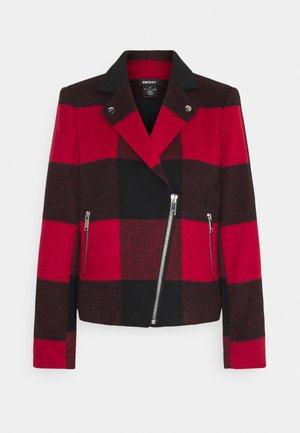Summer jacket - rudolph red/black