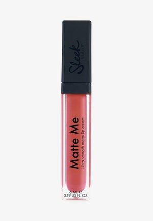 MATTE ME - Liquid lipstick - bittersweet