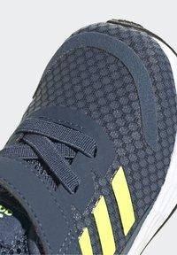 adidas Performance - DURAMO SL SHOES - Sports shoes - crew navy/solar yellow/halo silver - 8