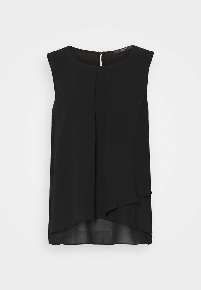 NEW TO REPEAT - Blusa - black