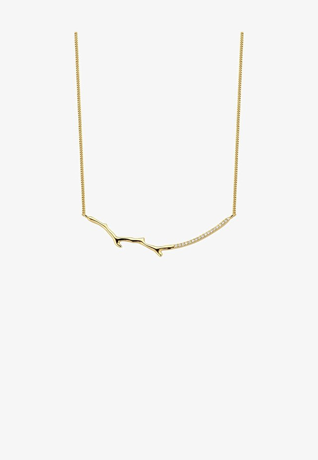 SUPREME DIAMOND NECKLACE - Collier - 18k yellow gold vermeil