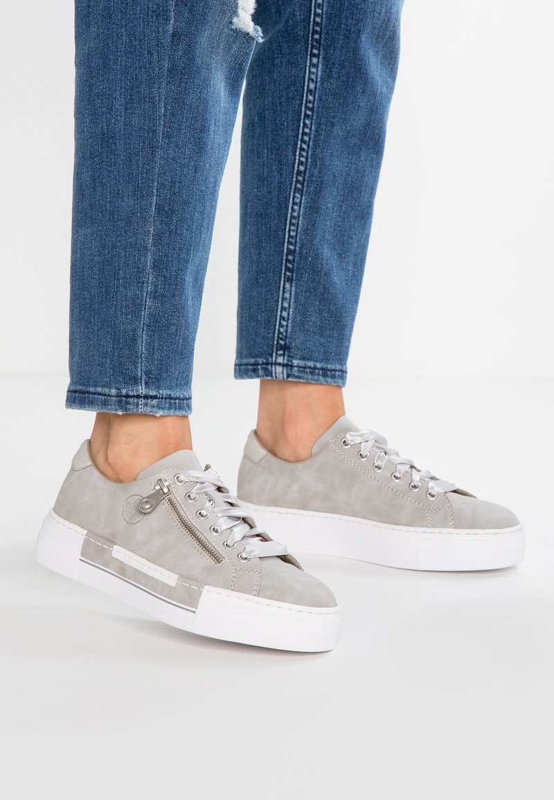 Rieker - Trainers - cement/silver