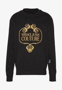 Versace Jeans Couture - CREW - Sweatshirt - black - 5