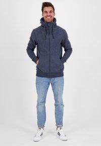 alife & kickin - ELIASAK A - Zip-up hoodie - marine - 1