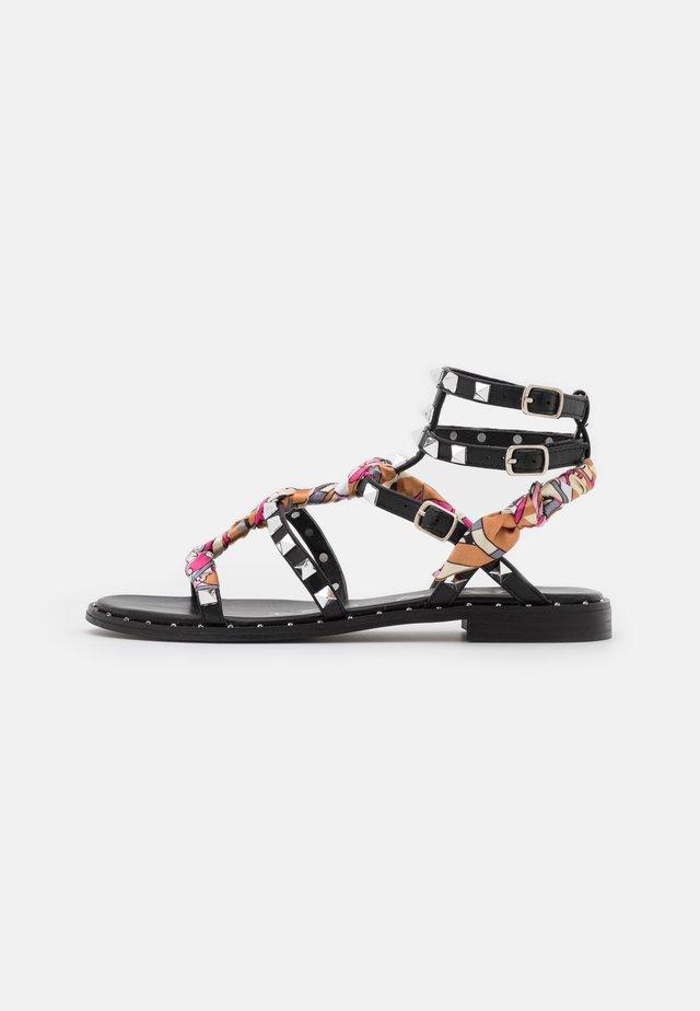 Sandaler - nero/multicolor