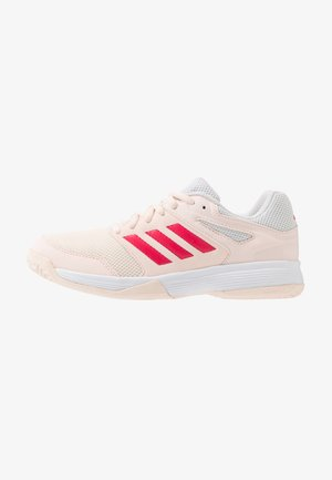 SPEEDCOURT - Handball shoes - pink tint/footwear white/power pink