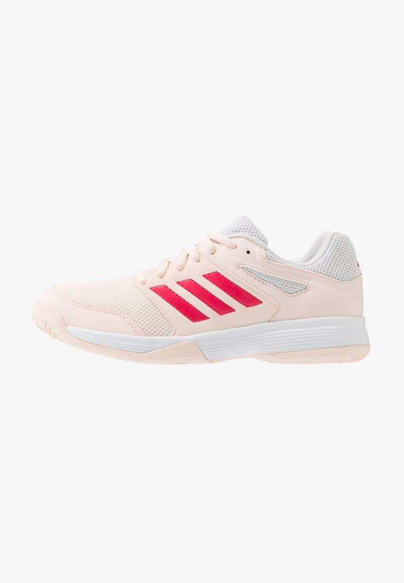 adidas Performance - SPEEDCOURT - Handballschuh - pink tint/footwear white/power pink
