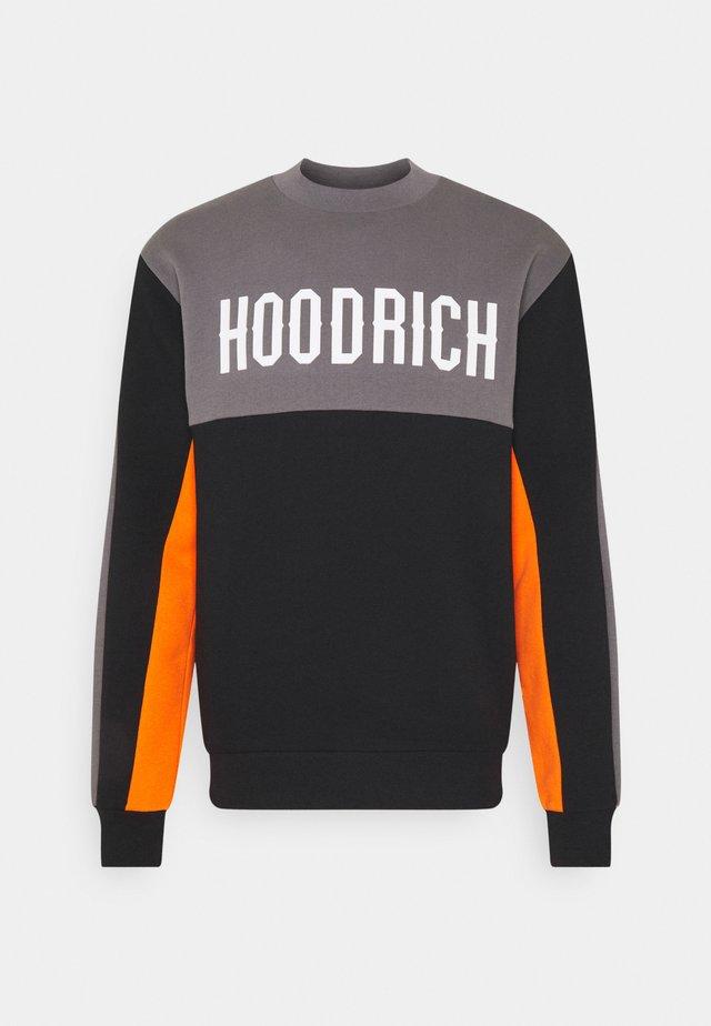 OG BLOCK - Sweater - black/golden poppy