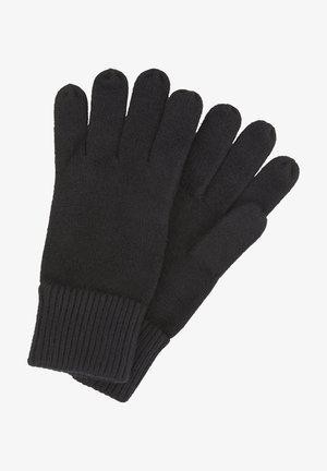 MIT LOGO-BADGE - Gloves - black