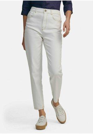 Straight leg jeans - weiß denim