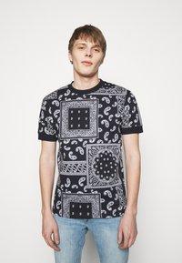 DRYKORN - ANTON - Basic T-shirt - dark blue - 0