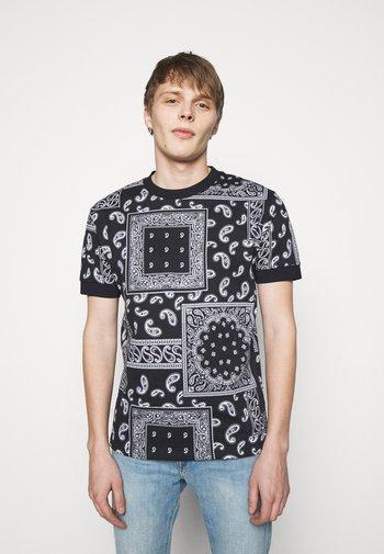 ANTON - T-shirt basique - dark blue