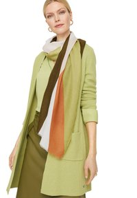 comma - MIT STREIFENMUSTER - Scarf - spring green placed print - 0