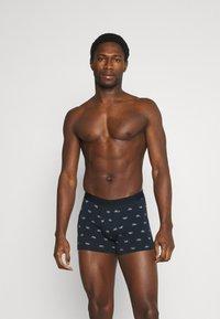 Pier One - 3 PACK - Underkläder - dark blue/offwhite - 0