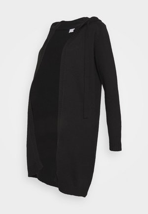 MLASHLEY HOOD CARDIGAN - Gilet - black