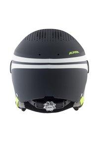 Alpina - ZUPO - Helm - charcoal-neon matt - 1