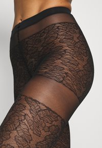 Falke - LEAVES DREAM - Tights - black - 2