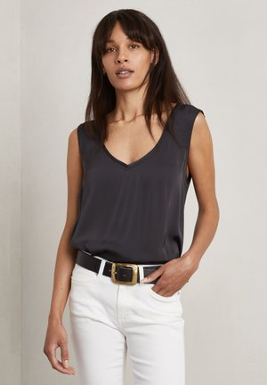 LOULOU - Top - charcoal