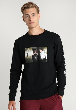 TRUST NOBODY CREWNECK - Collegepaita - black