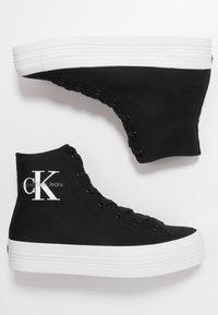 Calvin Klein Jeans - ZABRINA - High-top trainers - black - 3