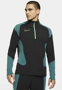 Nike Performance - DRY ACADEMY SUIT - Survêtement - black/black/green strike/green strike