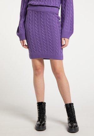 Mini skirt - lila
