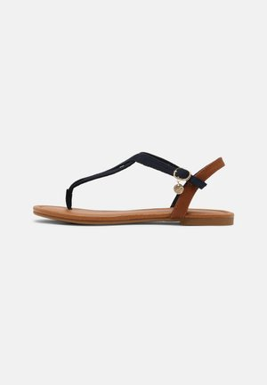 Sandaler m/ tåsplit - navy