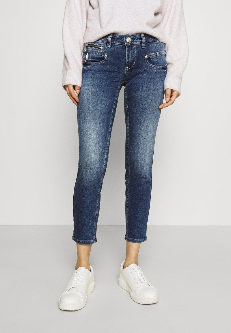 Freeman T. Porter - ALEXA CROPPED - Jeans Skinny Fit - madera