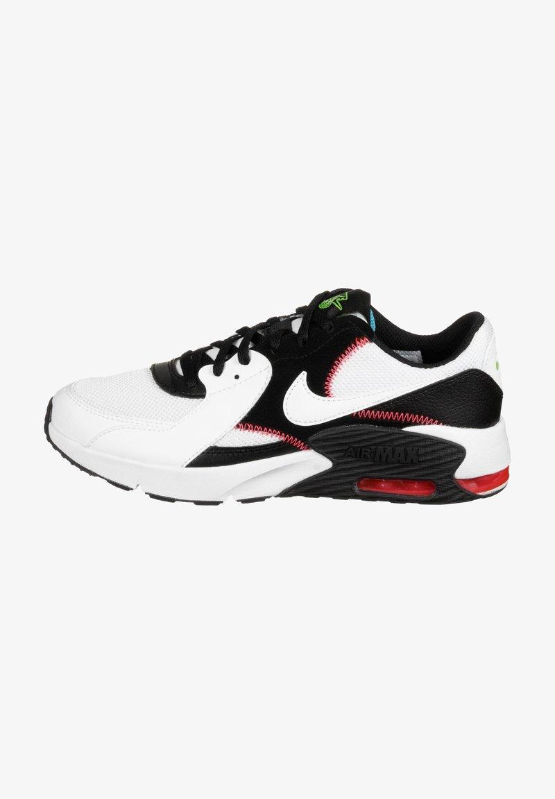 Nike Sportswear - AIR MAX EXCEE - Trainers - white / white / black / flash crimson