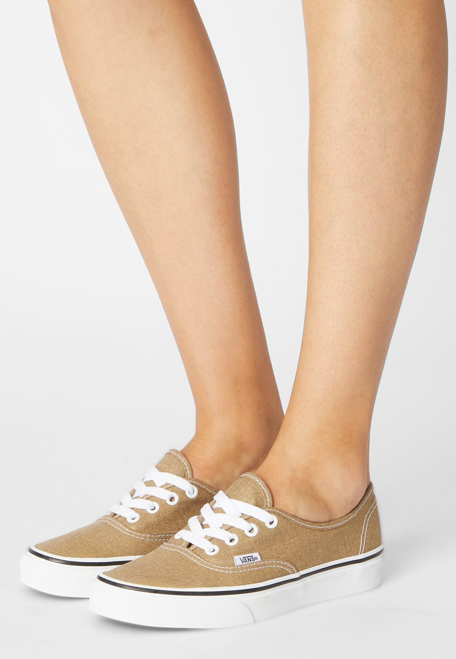 Vans AUTHENTIC - Sneakers basse - bronze age/true white/bronzo ...