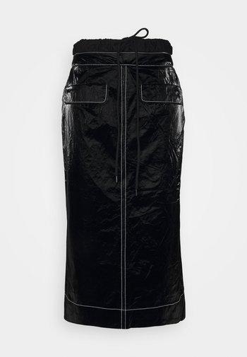 TAYLOR SKIRT - Jupe crayon - tyvek black