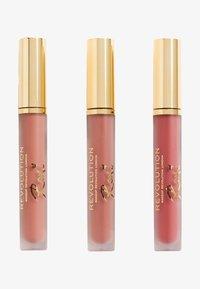 Make up Revolution - REVOLUTION X ROXXSAURUS LIP KIT - Palette pour les lèvres - - - 0