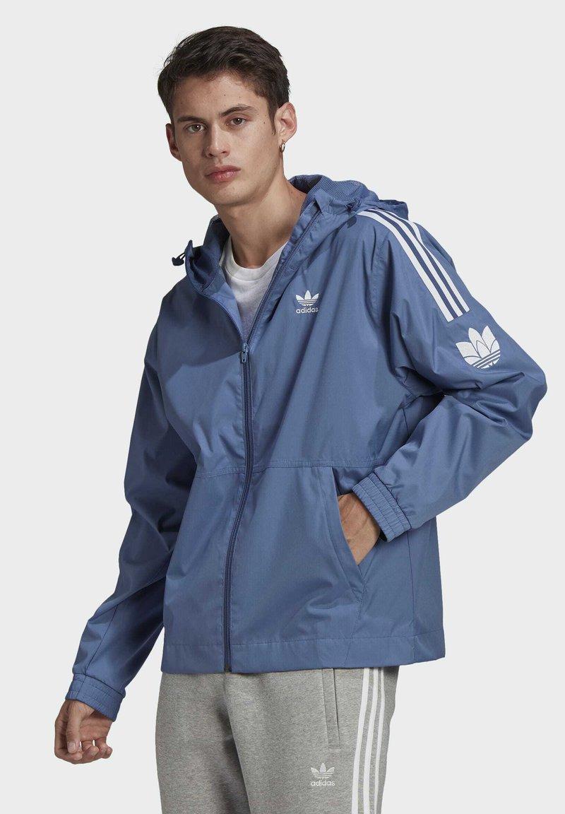 adidas Originals - ADICOLOR  TREFOIL WINDBREAKER - Windbreaker - blue