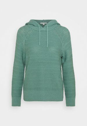 STRUCTURED - Hoodie - dusty green
