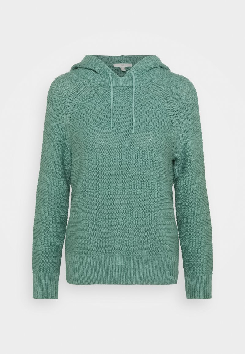 edc by Esprit - STRUCTURED - Hoodie - dusty green