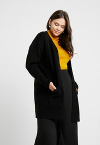 CAPSULE by Simply Be - ELEVATED ESSENTIALS  - Cardigan - black - 0