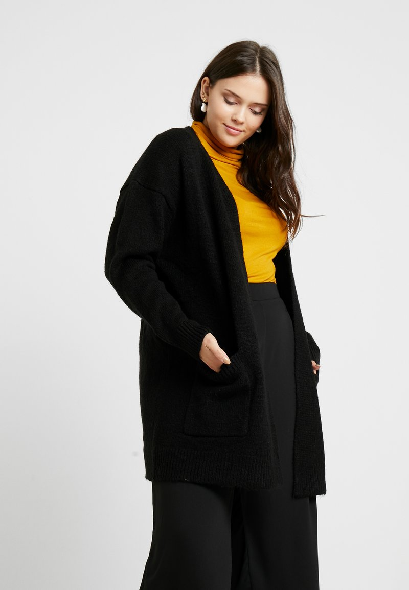 CAPSULE by Simply Be - ELEVATED ESSENTIALS  - Cardigan - black