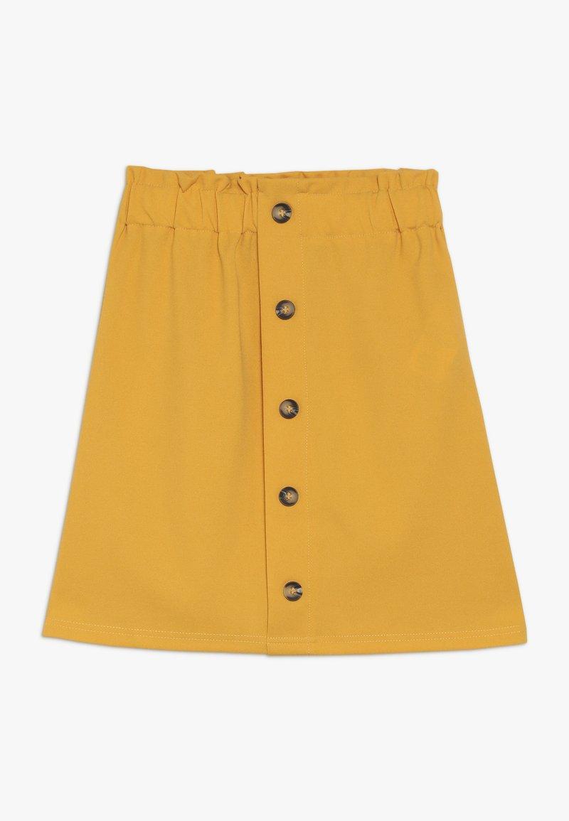 D-XEL - GULLI - A-line skirt - yellow