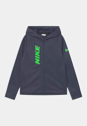 Training jacket - thunder blue/white/green strike