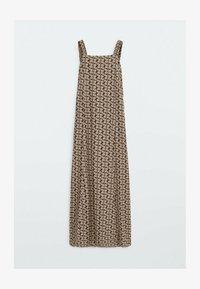 Massimo Dutti - Maxi dress - brown - 4
