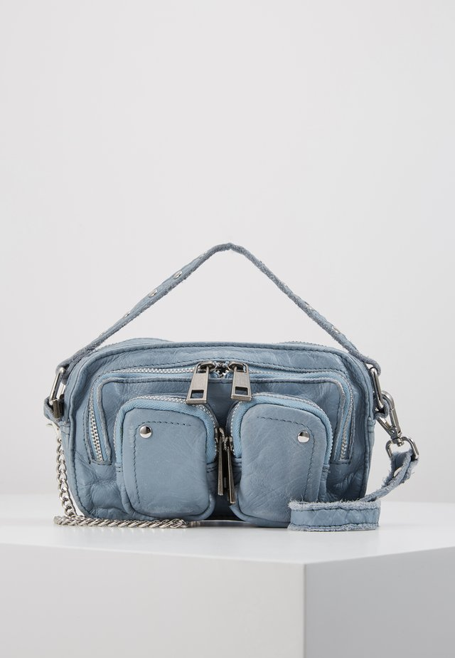 HELENA - Handbag - light blue