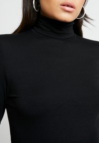 AMOV - COCO ROLL NECK - Bluzka z długim rękawem - black - 4