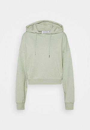 CROPPED HOODIE - Sweatshirt - green