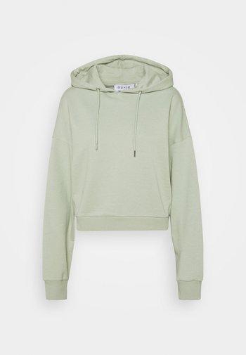 CROPPED HOODIE - Bluza - green