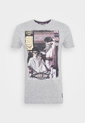 SWEENEYB - Print T-shirt - light grey marl