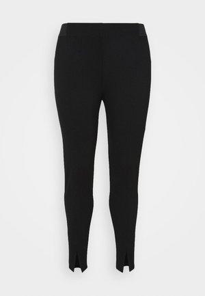 JCARINA CROPPED - Leggingsit - black