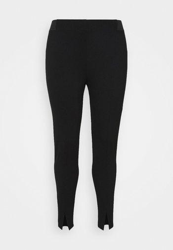 JCARINA CROPPED - Leggings - Trousers - black